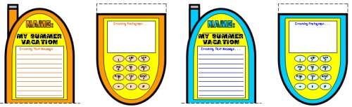 My Summer Vacation Creative Writing Lesson Plans and Ideas