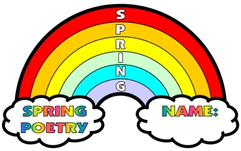 Rainbow Poetry Acrostic Poem Templates