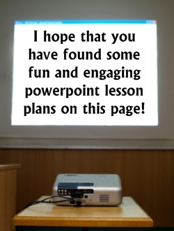 Fun Powerpoint Presentation Lesson Plans