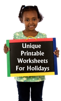 Printable Worksheets and Holiday Worksheets