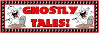 Halloween Ghostly Tales Bulletin Board Display Banner
