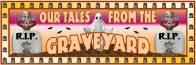 Halloween Spooky Graveyard Stories Bulletin Board Display Banner