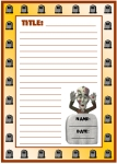 Halloween Spooky Graveyard Stories Printable Worksheets for Language Arts