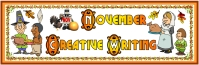 Thanksgiving Pilgrim Dinner Stories Bulletin Board Display Banner