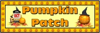 Halloween Pumpkin Patch Bulletin Board Display Banner