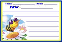 Spring Teaching Resources Bee Printable Worksheets