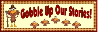 Thanksgiving Turkey Stories Bulletin Board Display Banner