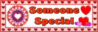 Valentine's Day Someone Special Bulletin Board Display Banner