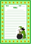 Halloween Witch Story Do You Like Best Printable Worksheets for Language Arts