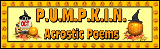 Halloween Pumpkin Acrostic Poem Lesson Plans for Elementary Teachers