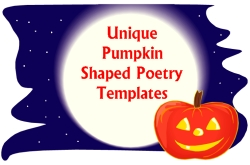 Unique and Fun Halloween Pumpkin Shaped Writing Templates and Worksheets