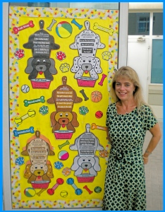 Punctuation School Classroom Door Display Ideas