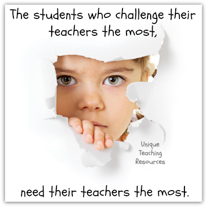Quotes About Kids - The students who challenge their teachers the most, need their teachers the most.