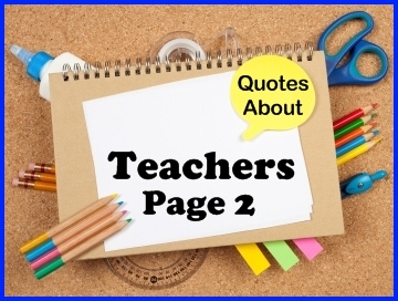 Quotes About Teachers Page 2