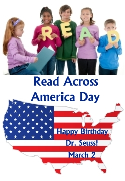 Read Across America Day Dr. Seuss Birthday March 2
