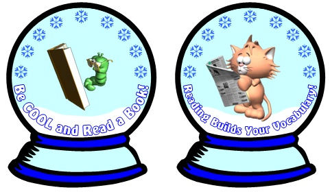 Reading Sticker Charts Bulletin Board Display Ideas for Winter and Christmas