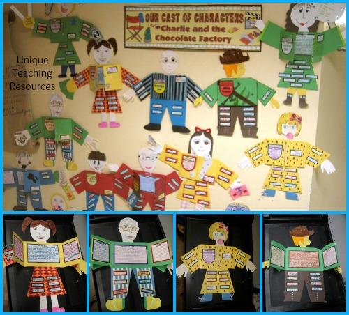 Roald Dahl Charlie and the Chocolate Factory Fun Character Projects