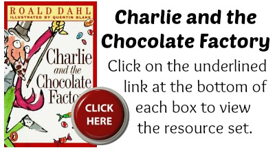 Charlie and the Chocolate Factory Book Cover Roald Dahl Projects