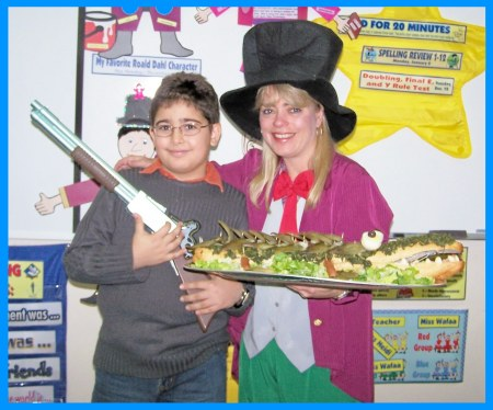 Celebrating Roald Dahl Day Willy Wonka and Enormous Crocodile Sandwich