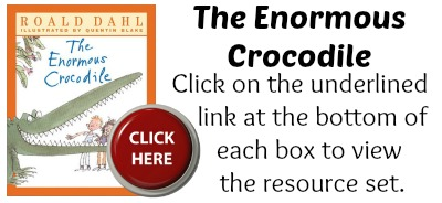 The Enormous Crocodile Book Cover Roald Dahl Projects
