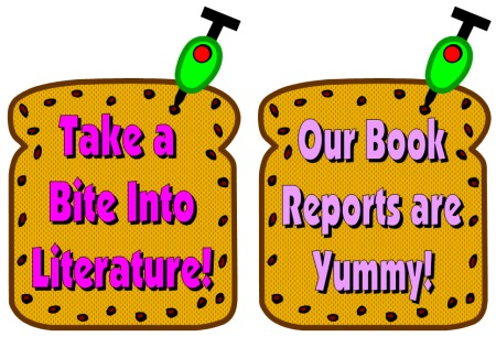 Sandwich Book Report Project Ideas for Teachers
