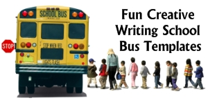 Fun School Bus Creative Writing Templates and Projects