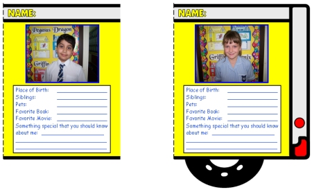 Fun School Bus Templates for a Back to School Creative Writing Activity