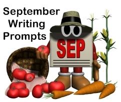 September Creative Writing Prompts For Elementary School Teachers and Students