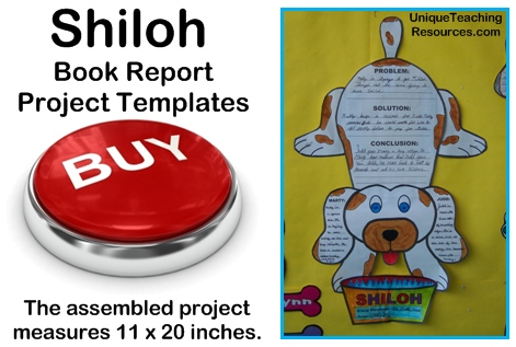 Shiloh Lesson Plans and Book Report Project Templates Phyllis Reynolds Naylor