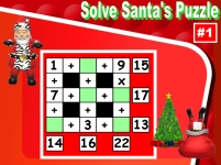 Christmas Math Addition and Subtraction Puzzle Powerpoint Lesson Plans