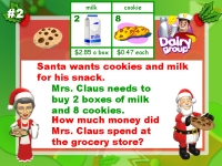 Christmas Math Word Problems Powerpoint Presentation