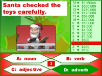 Christmas Grammar Nouns, Verbs, Adjectives, Adverbs Powerpoint Presentation