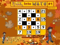 Thanksgiving Math Addition and Subtraction Powerpoint Lesson Plans