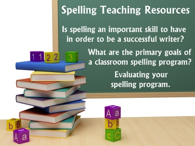 Spelling Teaching Resources For Elementary School Teachers