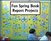 Fun Spring Book Report Project Ideas