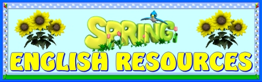 Spring English Teaching Resources and Lesson Plans