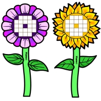 Spring Flowers Incentive and Sticker Charts