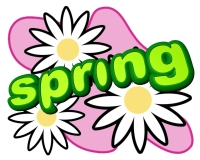 Spring Flowers Graphic