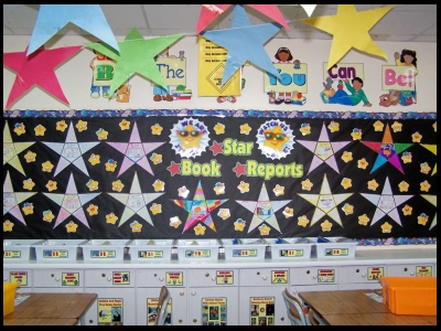 Star Book Report Projects and Fun Reading Activities For Elementary Students
