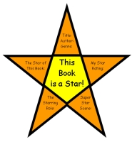 Star Shaped Book Report Projects and Creative Writing Templates
