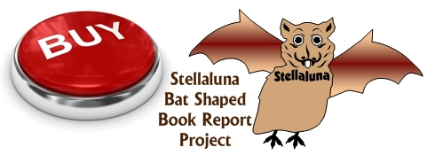 Stellaluna Bat Book Report Project Templates Buy Now Button