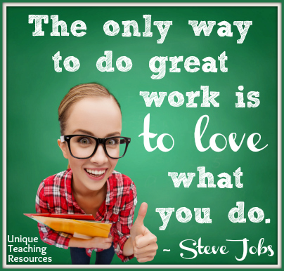Steve Jobs Quote - The only way to do great work.