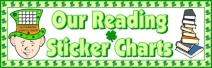 St. Patrick's Day Reading Bulletin Board Display Banner