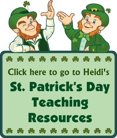 Click Here To Go To St. Patrick's Day Teaching Resources Page