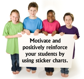 Elementary Students Sticker Charts and Incentive Templates