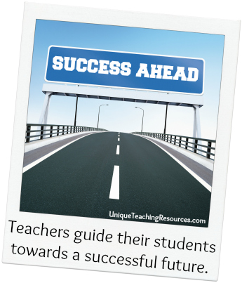Teachers guide their students towards a successful future.