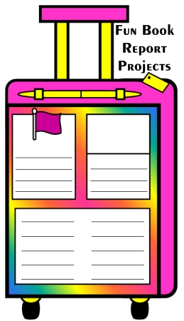 Fun Book Report Ideas for Kids Suitcase Examples