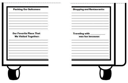Vacation Suitcase Book Report Projects For Main Characters – Sample Cereal Box Book Report Template