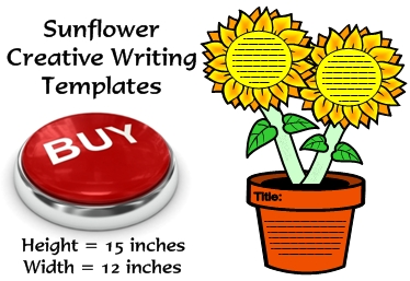 Sunflower Writing Templates and Spring Projects and Ideas for Elementary School Teachers