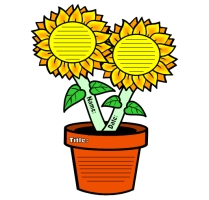 Spring Teaching Resources Sunflower Printable Worksheets